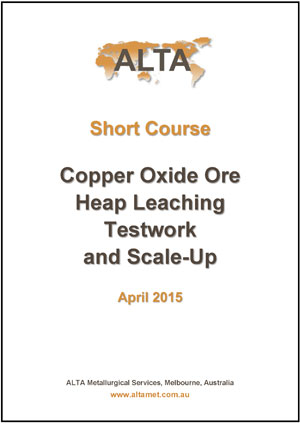 Copper Oxide Ore Heap Leaching Testwork and Scale-Up